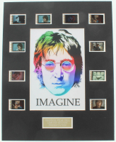 "John Lennon ""Imagine"" LE 8x10 Custom Matted Original Film / Movie Cell Display at PristineAuction.com"