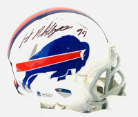 Harrison Phillips Signed Bills Speed Mini-Helmet (Beckett COA) at PristineAuction.com