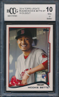 Mookie Betts 2014 Topps Update Dugout (BCCG 10) at PristineAuction.com
