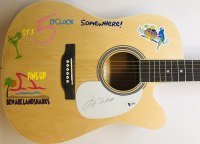 Jimmy Buffett Signed Full-Size Acoustic Guitar (Beckett COA) at PristineAuction.com