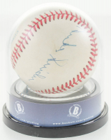 Mickey Mantle, Duke Snider, & Willie Mays Signed OAL Baseball (BGS Encapsulated) at PristineAuction.com