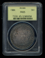 1904 $1 Morgan Silver Dollar (PCGS PR65) at PristineAuction.com