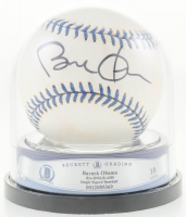 Barack Obama Signed OAL Baseball (BGS Encapsulated) at PristineAuction.com