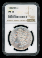 1885-O $1 Morgan Silver Dollar (NGC MS63) at PristineAuction.com