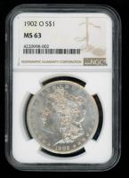1902-O $1 Morgan Silver Dollar (NGC MS63) at PristineAuction.com