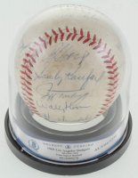 1965 Los Angeles Dodgers ONL Baseball Signed by (22) with Sandy Koufax, Don Drysdale, Walter Alston, Johnny Podres  (BGS Encapsulated) at PristineAuction.com
