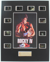 """Rocky IV"" LE 8x10 Custom Matted Original Film / Movie Cell Display at PristineAuction.com"