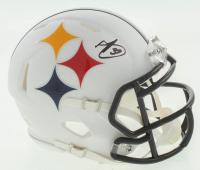 Minkah Fitzpatrick Signed Steelers AMP Alternate Speed Mini Helmet (Beckett COA) at PristineAuction.com