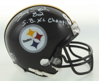 """Antwaan Randle El Signed Steelers Speed Mini Helmet Inscribed """"S.B. XL Champs!"""" (Beckett COA) at PristineAuction.com"""