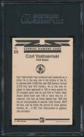 Carl Yastrzemski Signed 1983 Donruss #25 DK (SGC Encapsulated) at PristineAuction.com