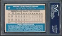 Andre Dawson Signed 1982 Donruss #88 (PSA Encapsulated) at PristineAuction.com