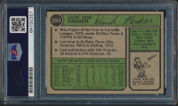 Dave Parker Signed 1974 Topps #252 RC (PSA Encapsulated) at PristineAuction.com
