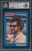 Richard Petty Signed 1991 Traks Richard Petty #14 (BGS Encapsulated) at PristineAuction.com