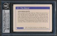 Richard Petty Signed 1991 Traks Richard Petty #14 (BGS Encapsulated) at PristineAuction.com