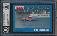 Richard Petty Signed 1991 Traks Richard Petty #24 Richard Petty's Car (BGS Encapsulated) at PristineAuction.com