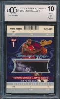 LeBron James 2003-04 Fleer Authentix #104 RC (BCCG 10) at PristineAuction.com