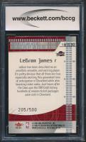 LeBron James 2003-04 Fleer Mystique Secret Weapons #1 (BCCG 10) at PristineAuction.com