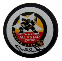 Bobby Orr Bruins Signed Bruins 1996 All-Star Hockey Puck (PSA COA) at PristineAuction.com