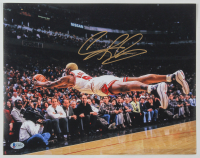 Dennis Rodman Signed Bulls 11x14 Photo (Beckett COA) at PristineAuction.com