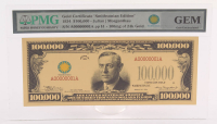 "1934 $100,000 One Thousand Dollars ""Smithsonian Edition"" Gold Certificate (PMG Gem Uncirculated) at PristineAuction.com"