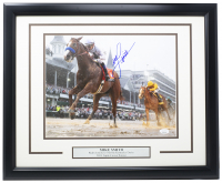 Mike Smith Signed Kentucky Derby 11x14 Custom Framed Photo Display (JSA COA) at PristineAuction.com