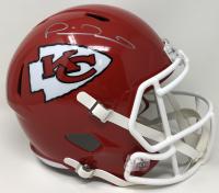 Patrick Mahomes II Signed Chiefs Super Bowl 54 Full-Size Speed Helmet (Fanatics Hologram) at PristineAuction.com