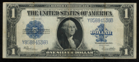 1923 $1 One Dollar Blue Seal Large Size Silver Certificate Bank Note at PristineAuction.com