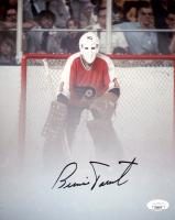 Bernie Parent Signed Flyers 8x10 Photo (JSA COA) at PristineAuction.com