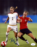 Heather Mitts Signed Team USA 8x10 Photo (JSA COA) at PristineAuction.com