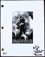 "Michael Biehn Signed ""Aliens"" Movie Script Inscribed ""Reese"" (Beckett COA) at PristineAuction.com"