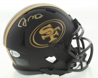 Joe Montana Signed 49ers Eclipse Alternate Speed Mini Helmet (Beckett COA) at PristineAuction.com