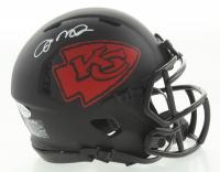 Joe Montana Signed Chiefs Eclipse Alternate Speed Mini Helmet (Beckett COA) at PristineAuction.com