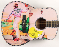 "Elton John Signed 41"" Acoustic Guitar Inscribed ""With Love"" (PSA Hologram) at PristineAuction.com"