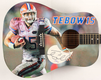 "Tim Tebow Signed 41"" Acoustic Guitar (PSA Hologram) at PristineAuction.com"