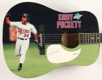 "Kirby Puckett Signed 1991 World Series 41"" Acoustic Guitar (PSA Hologram) at PristineAuction.com"