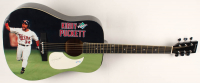 """Kirby Puckett Signed 1991 World Series 41"""" Acoustic Guitar (PSA Hologram) at PristineAuction.com"""