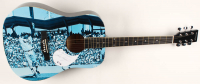 "Sandy Koufax Signed 1963 World Series 41"" Acoustic Guitar (PSA Hologram) at PristineAuction.com"