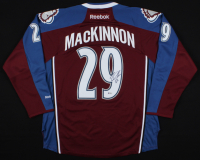 Nathan MacKinnon Signed Avalanche Jersey (Beckett COA) at PristineAuction.com