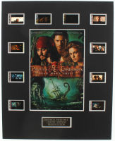 """Pirates of the Caribbean: Dead Man's Chest"" LE 8x10 Custom Matted Original Film / Movie Cell Display at PristineAuction.com"