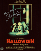 "Jim Winburn Signed ""Halloween"" 8x10 Photo Inscribed ""Michael Myers"" & ""Stunts"" (Legends COA) at PristineAuction.com"
