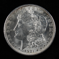 1921 Morgan Silver Dollar at PristineAuction.com