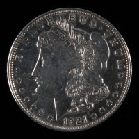 1921-D Morgan Silver Dollar at PristineAuction.com