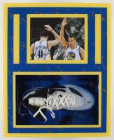 Stephen Curry Signed Warriors 18.5x23 Custom Framed Shoe Display (JSA LOA) at PristineAuction.com