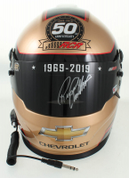 Richard Childress Signed NASCAR RCR 50th Anniversary Full-Size Helmet (PA COA) at PristineAuction.com