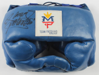 """Manny Pacquiao Signed Sparring Helmet Inscribed """"Pacman"""" (Pacquiao COA) at PristineAuction.com"""