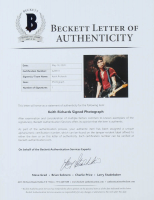Keith Richards Signed 11x14 Photo (Beckett LOA) at PristineAuction.com