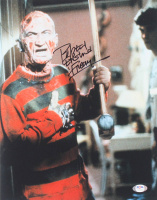 """Robert Englund Signed """"Nightmare on Elm Street"""" 11x14 Photo Inscribed """"Freddy"""" (PSA COA) at PristineAuction.com"""