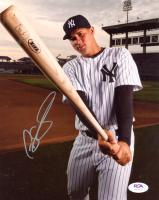 Gary Sanchez Signed Yankees 8x10 Photo (PSA COA) at PristineAuction.com