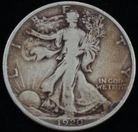 1920 Walking Liberty Silver Half Dollar at PristineAuction.com