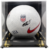 Megan Rapinoe Signed Team USA Nike Soccer Ball with Acrylic Display Case (JSA COA) at PristineAuction.com